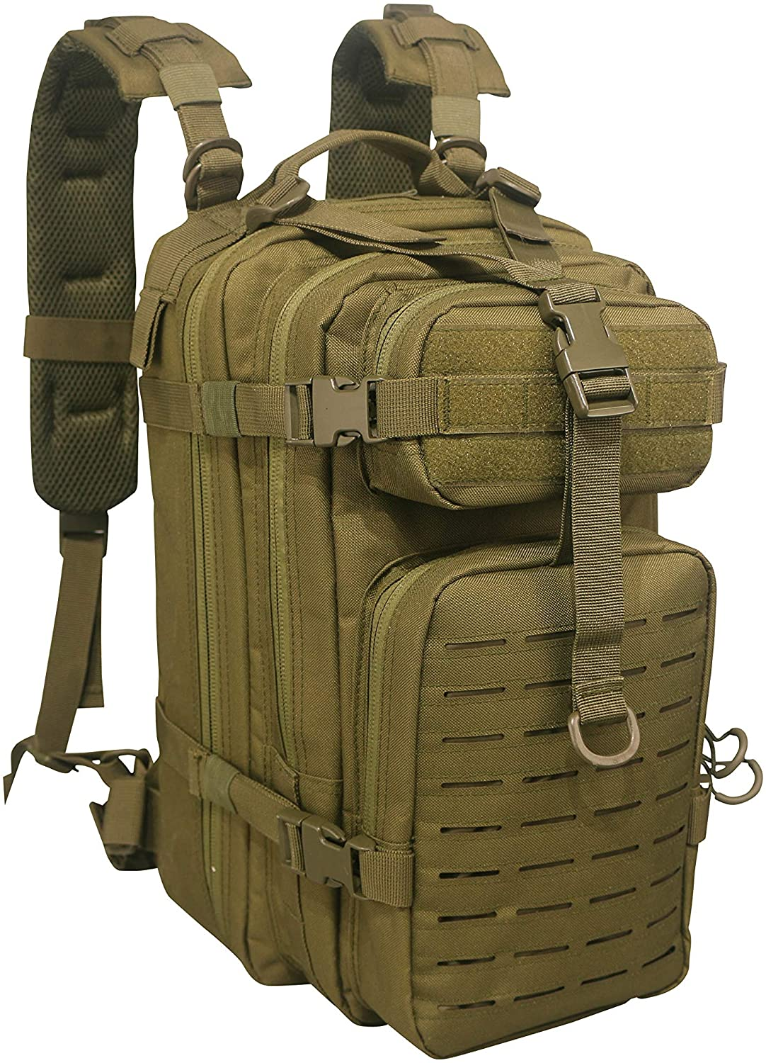 Lightning X Stocked EMS/EMT Trauma & Bleeding First Aid, Tactical rescue medic backpack, hiking style