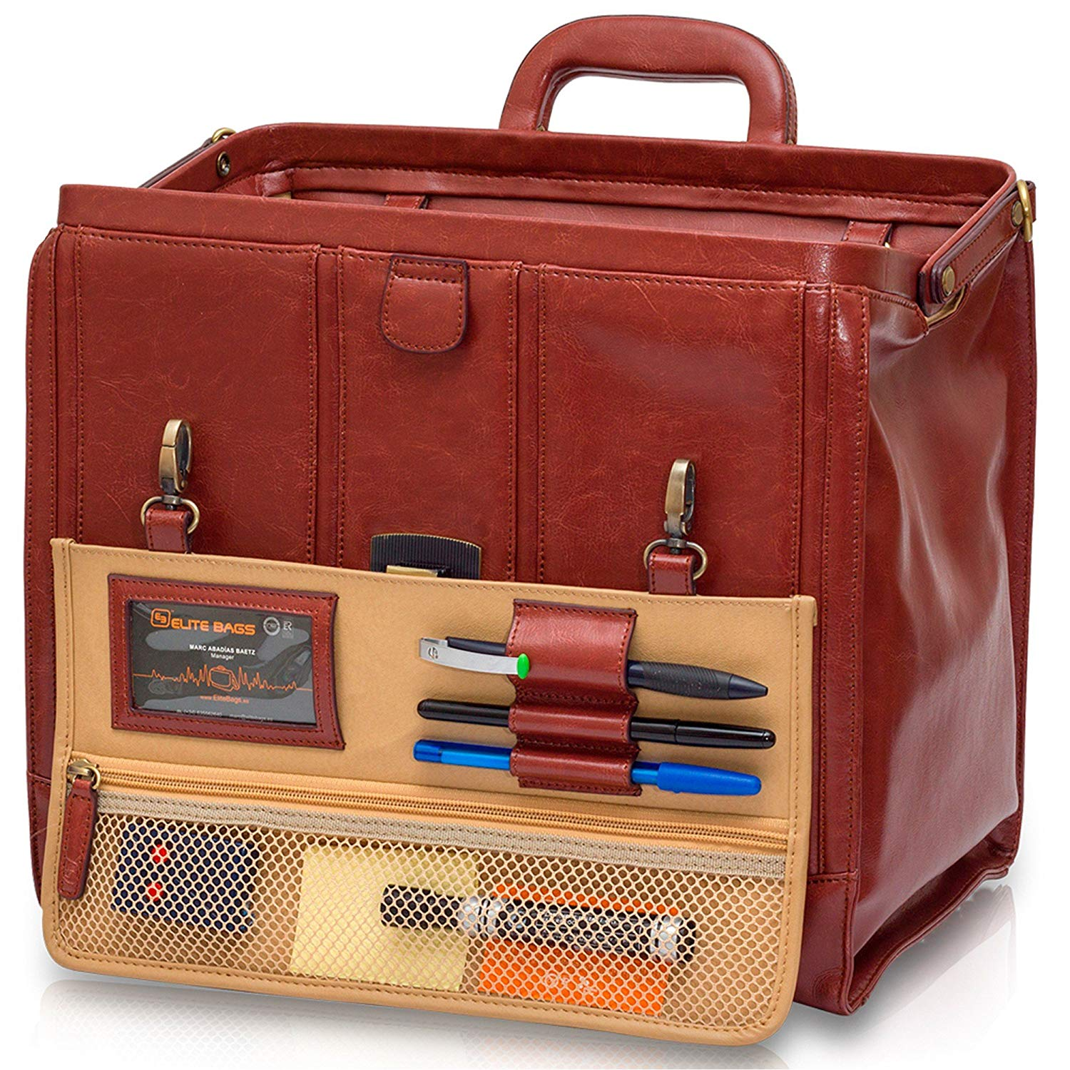 Elite Bags storage medical leather case