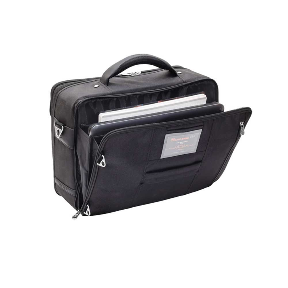 Elite Doctor bag with laptop compartment made of fabric