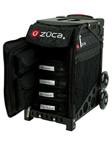 Zuca professional make-up case for climbing the stairs