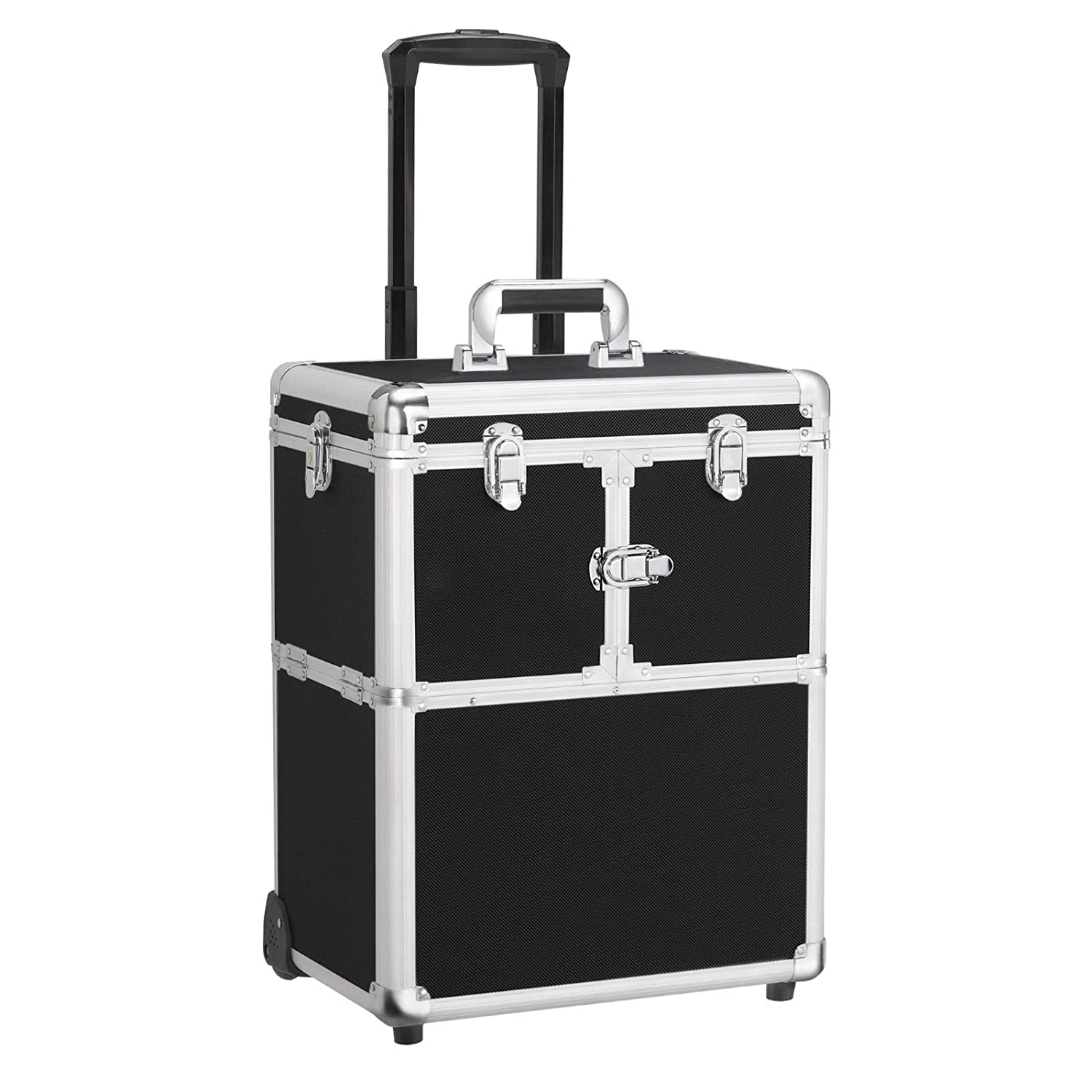 Yaheetech Professional trolley makeup case