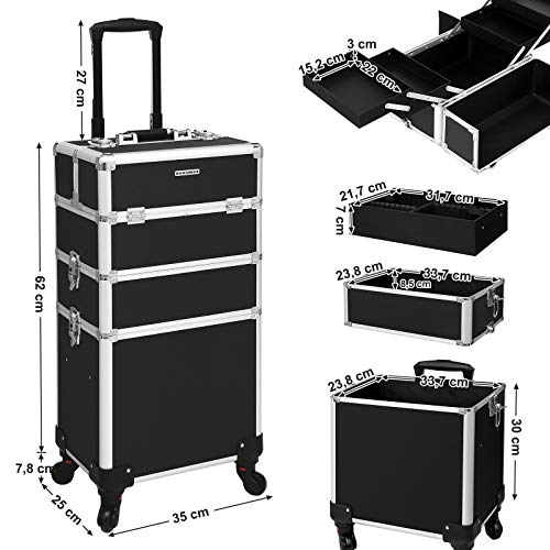 Professional Beauty case trolley with large capacity