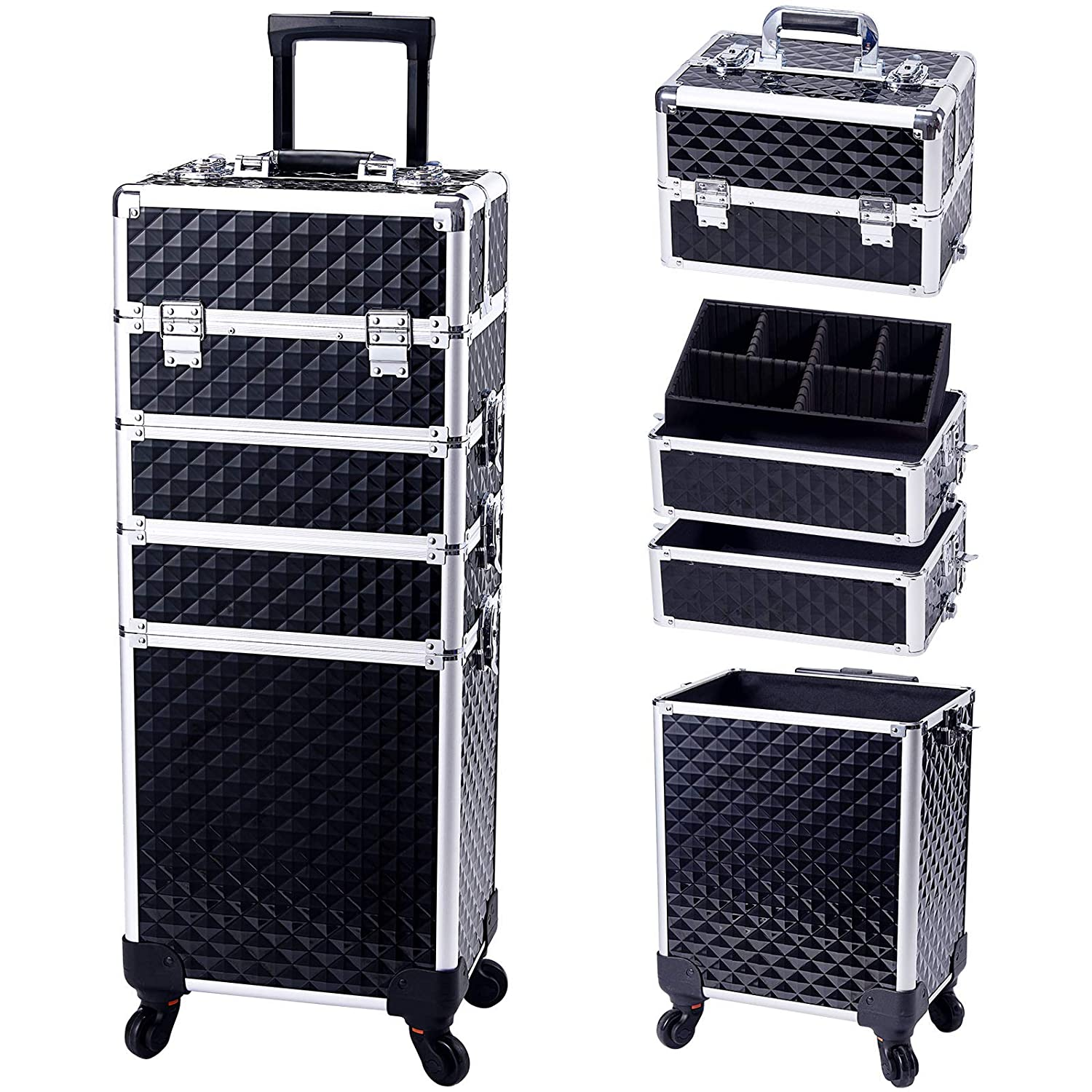 Carry your makeup on a trip with a trolley make-up case