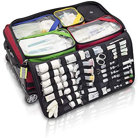 Compartmentalisation of the emergency medical backpack, Elite bags ems emergency oxygen