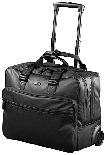 This pilot case is perfect if you're looking for a large business bag with wheels in a contemporary and sleek design, with a large capacity, here 29 litres.