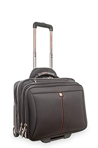 Executive briefcase with wheels for business trips