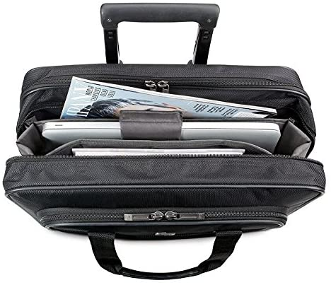 Solo New York Carnegie Rolling Laptop Bag, Black