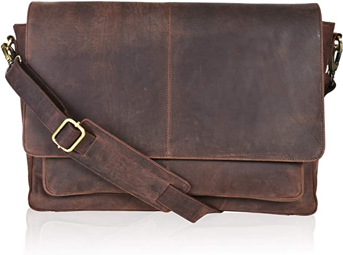 The leather shoulder bag for teachers with good value for money