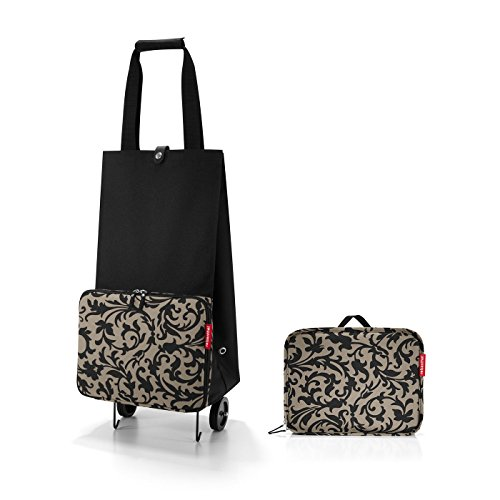 The foldable Reisenthel shopping trolley with baroque prints