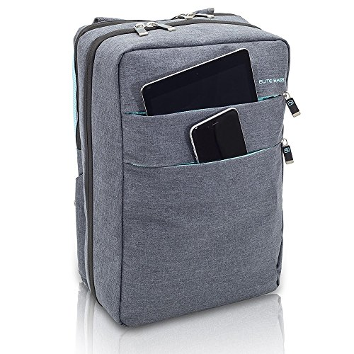 Urban and modern look for this nursing backpack